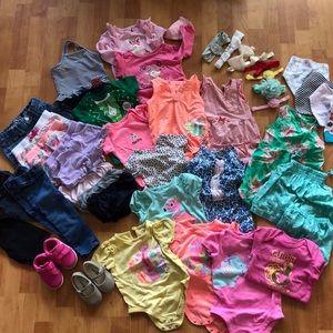 Baby Girl Bundle 40+ Pcs